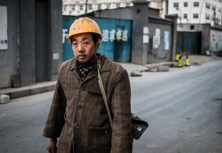 Asian migrant worker